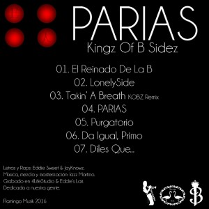 Trasera: Kingz of B sidez - Parias