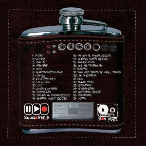Trasera: Klon beats - La petaca beats machine (Instrumentales)