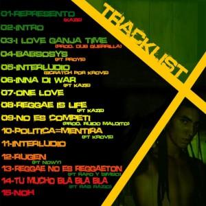 Trasera: Kmstyle - Rap in riddim