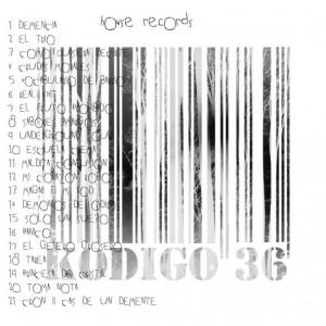 Trasera: Kodigo 36 - Cronicas de un demente
