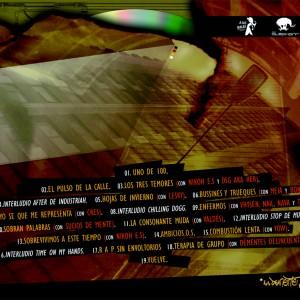 Trasera: La Demente Eme - Rap sin envoltorios