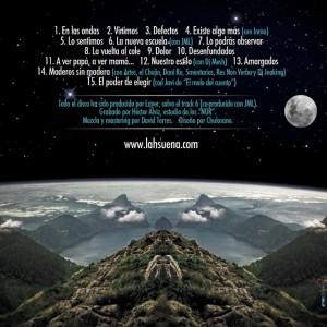 Trasera: La H Suena - Escribiendo el camino