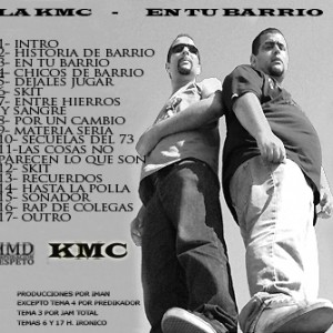 Trasera: La KMC - En tu barrio