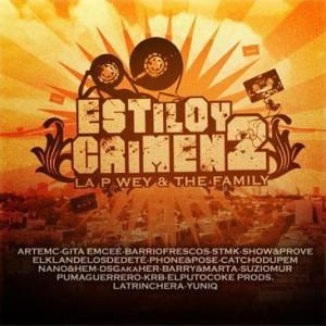 Deltantera: La P Wey and the family - Estilo y crimen Vol. 2