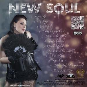 Trasera: Laia Grace - New Soul