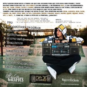 Trasera: Larru - Rap para todos los públicos
