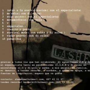 Trasera: Lashe - La Nozivilizacin