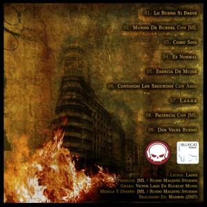 Trasera: Lashe y Ruido Maldito Studios - Dos Veces Bueno