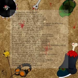Trasera: Lenguas Muertas - La hostia en verso