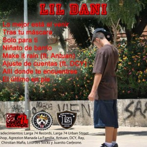 Trasera: Lil Dani - Niñato de barrio