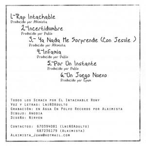 Trasera: Lniñoadulto - La incertidumbre de un MC (2007)