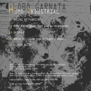 Trasera: Lobo Garnata - Humo industrial
