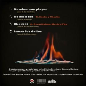 Trasera: Lone - Promo 2010