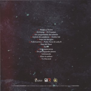Trasera: Loop Brothers - Magia y acero