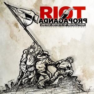 Los Chikos Del Maíz y Habeas Corpus - Riot propaganda (Portada y Tracklist)