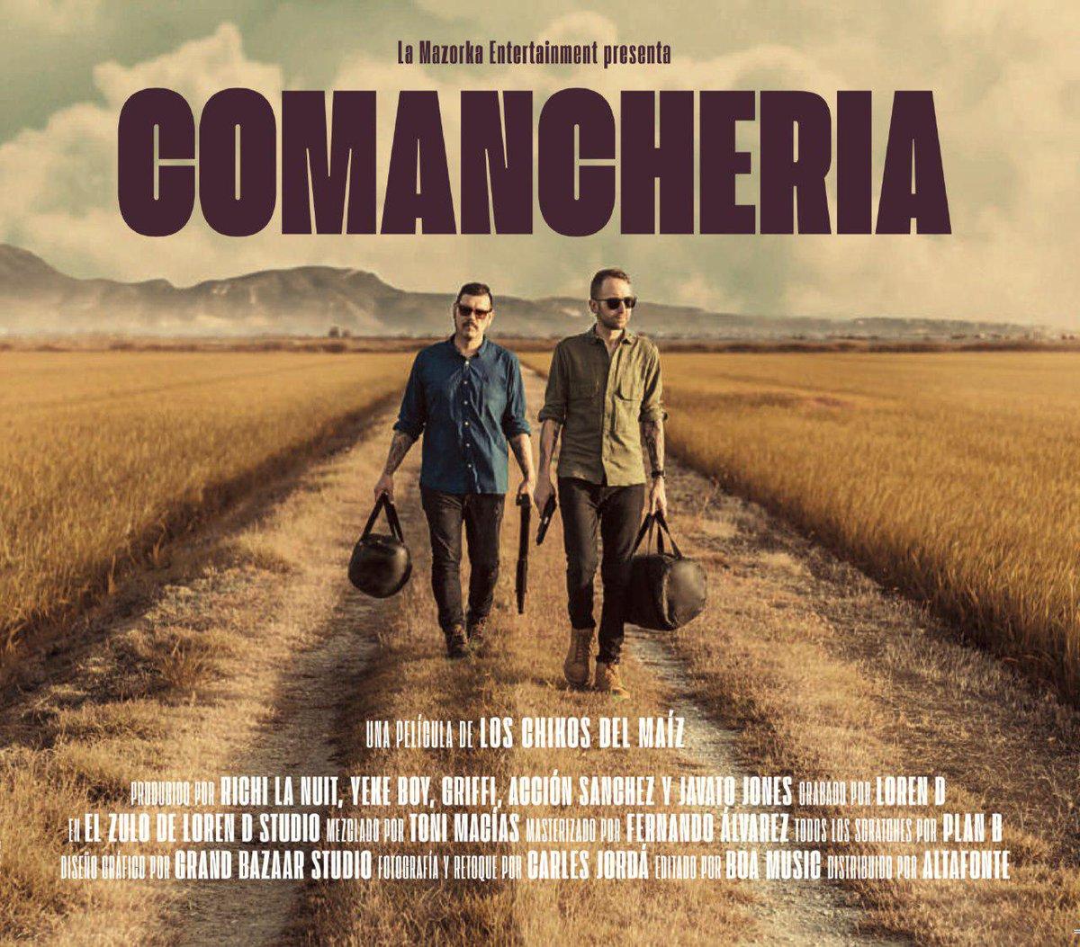 Los chikos del maíz - Comanchería (Tracklist)