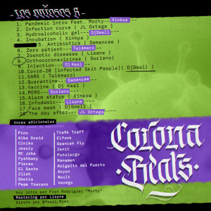 Trasera: Los odiosos 8 - Corona Beats (Instrumentales)