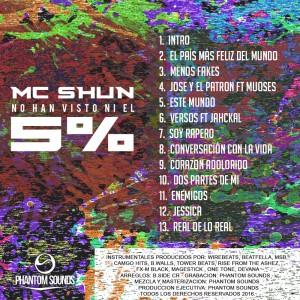 Trasera: MC Shun - No han visto ni el 5 %