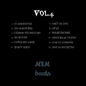 Trasera: MFM Beats - Vol. 4 (Instrumentales)