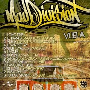 Trasera: Mad Division - Vuela