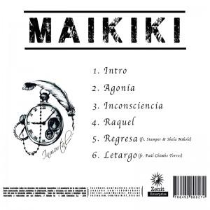 Trasera: Maikiki - Inmortal