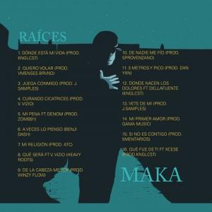 Trasera: Maka - Raíces