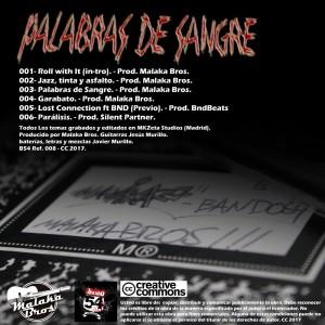 Deltantera: Malaka Bros - Palabras de sangre