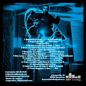 Trasera: Malputo Dest - Ilegal mixtape Vol.1