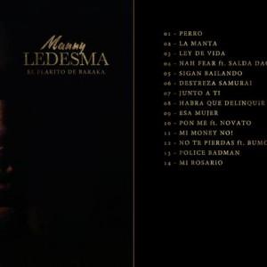 Trasera: Manny Ledesma - El flakito de Baraka