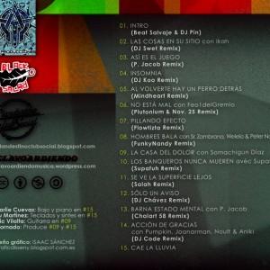 Trasera: Marco Fonktana - Plan renove 2012 Los remixes