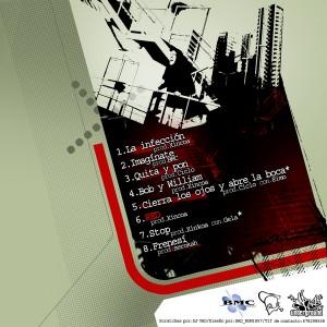 Trasera: Marco Skinny - Frenesí