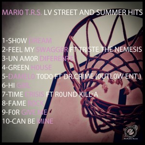 Trasera: Mario T.R.S. - Lv street and summer hits