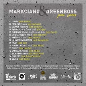 Trasera: Markciano y Greenboss - Vamos tarde