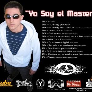 Trasera: Master A - Yo soy el master