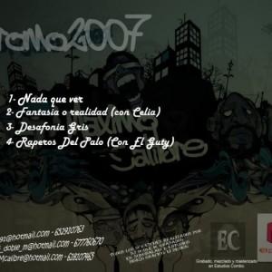 Trasera: Maximo Calibre - Promo 2007