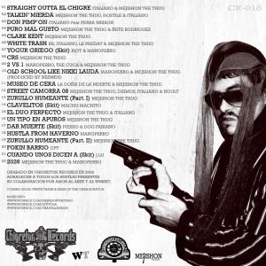 Trasera: Mejishon The Thug - White trash