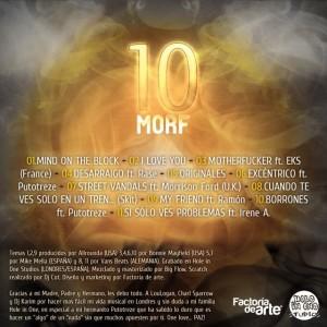 Trasera: Morf - Diez