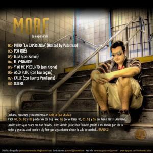 Trasera: Morf - La experiencia
