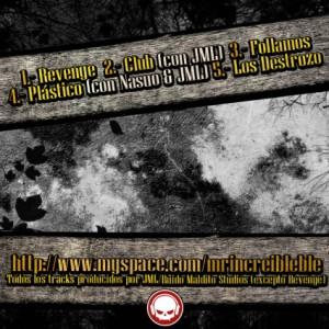 Trasera: Mr. Increibleble - Cosecha del 81