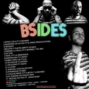 Trasera: Muevete de los cosafina - Bsides