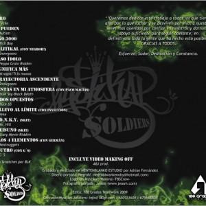 Trasera: Mystikal Soldiers - Mystikal soldiers