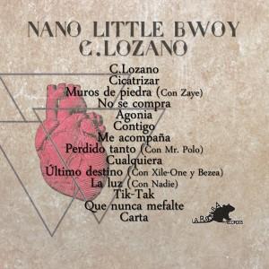 Trasera: Nano little bwoy - C. Lozano