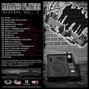 Trasera: Naranco players - Mixtape Vol.1