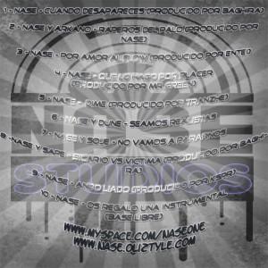 Trasera: Nase - Temas y colaboraciones (2009)