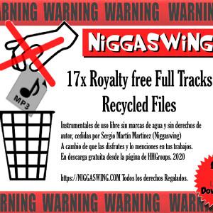Deltantera: Niggaswing - Recycled Files Boom Bap (Instrumentales)