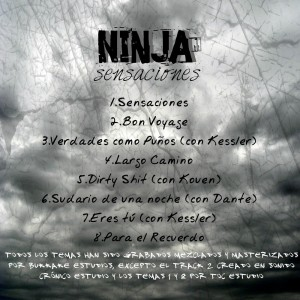 Trasera: Ninja - Sensaciones