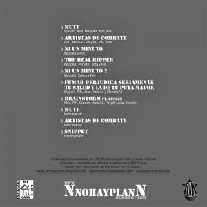 Trasera: NnohayplanN - B