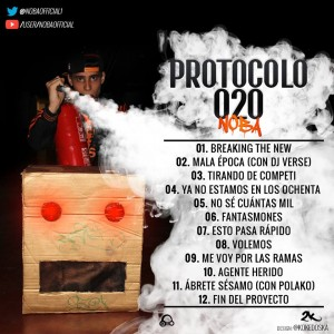 Trasera: Noba - Protocolo 020