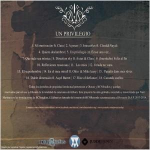 Trasera: Oktuso - Un privilegio