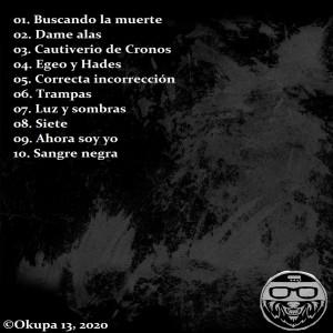 Trasera: Okupa 13 - Amor miedo